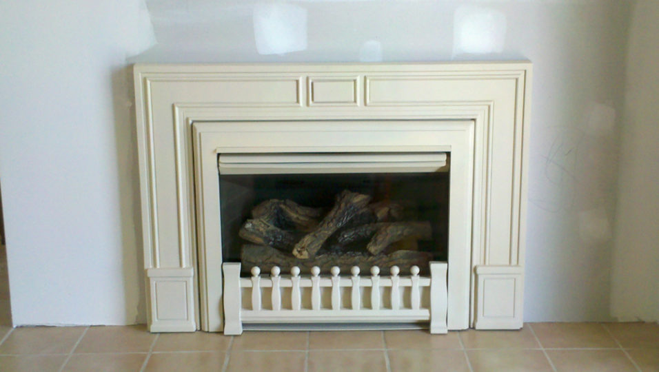 Custom Wilkening Fireplace