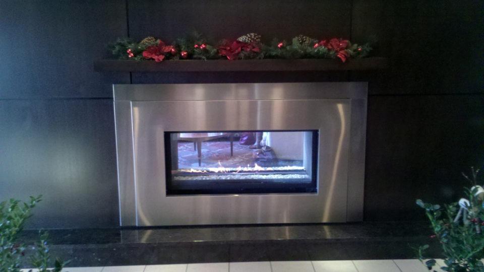 Modern Fireplace Install