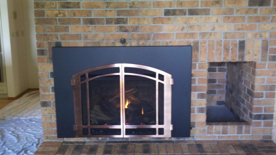 Stone Fireplace by Wilkening Fireplace