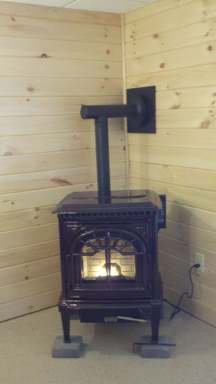 Wood Burning Stove by Wilkening Fireplace