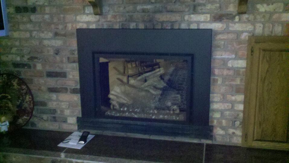 Gas Fireplace Insert by Wilkening Fireplace