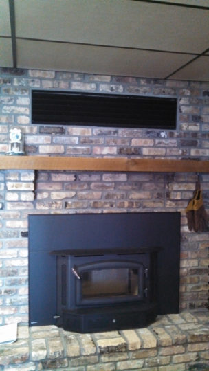 Wilkening Fireplace With Venting