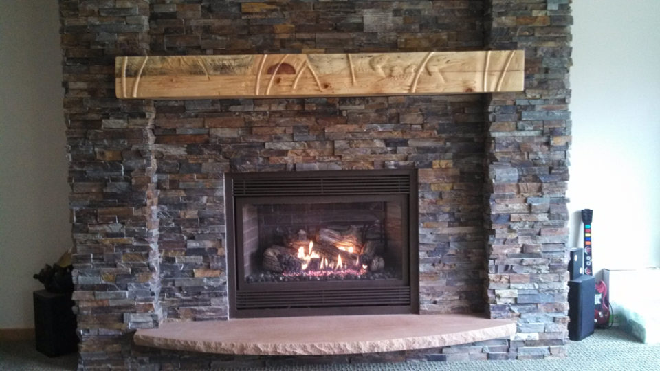Example of Wilkening Fireplace With Mantel